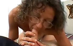 Dirty mature slut Candi is sucking a stiff cock POV style for your enjoyment