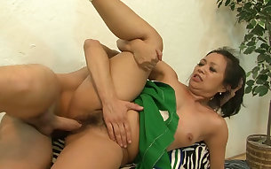 Damn hot big bottomed exotic cheerleader gets hammered from behind
