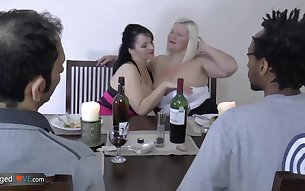 Compilation with amazing mature pornstars fucking for fun