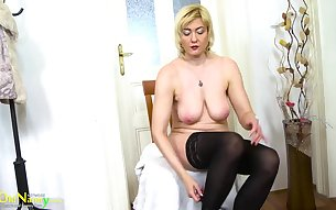 Compilation of exclusive mature lesbian and sexy solo videos