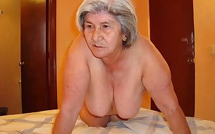 HelloGrannY Amateur Latin Grandma Pics Slideshow