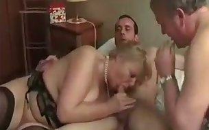 Dirty married couple are both ready to serve their butt holes