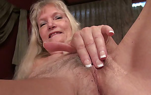 Cindy is an orgasm craving nasty granny and that's just what makes her hot