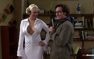 The Big Bang Theory XXX parody featuring sex-appeal blonde