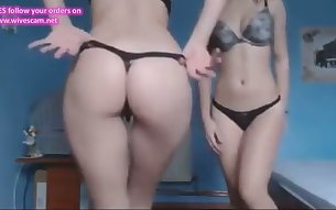 Two 18 Year Olds Naked on Webcam